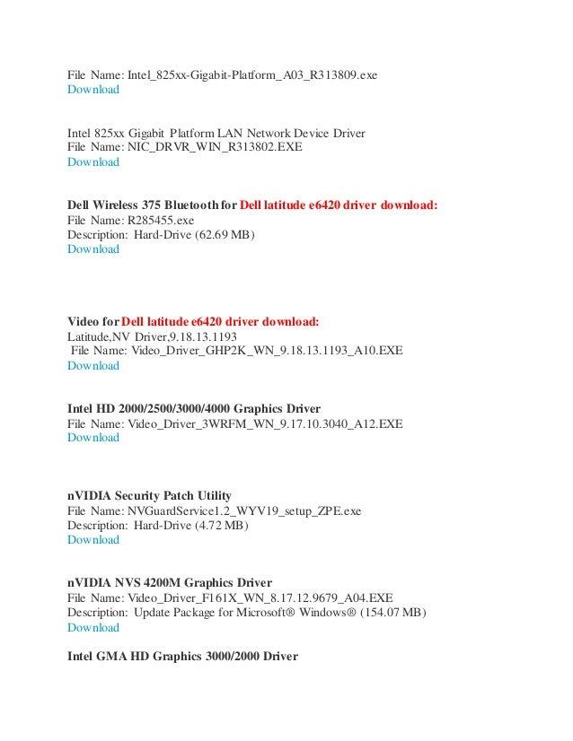Network Controller Driver Windows 7 64 Bit Download Dell