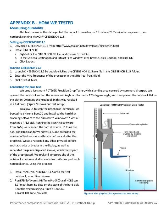 Performance comparison: Dell Latitude E6430 v  HP 8470p