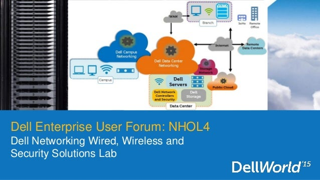 Dell Enterprise User Forum: NHOL4 Dell Networking Wired, Wireless and Security Solutions Lab