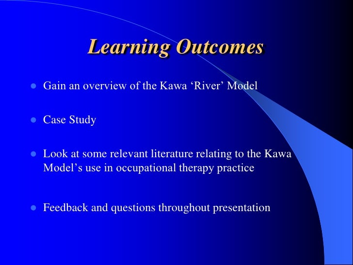 Introduction to the Kawa Model (Beki Dellow)