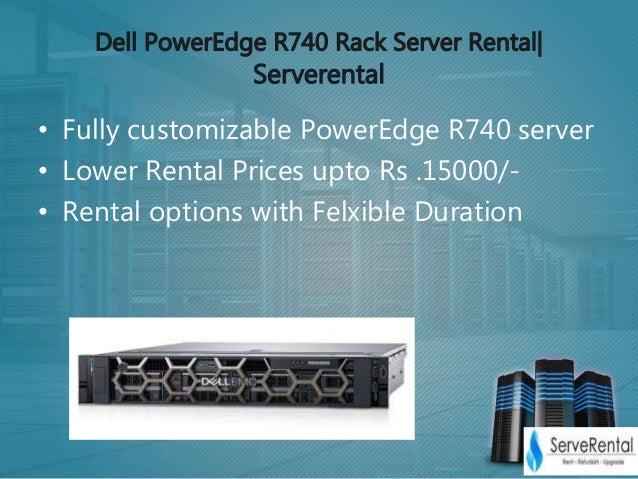 Dell power edge r740 server