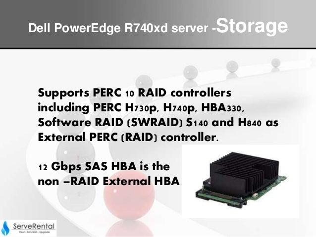 Dell power edge r740xd server