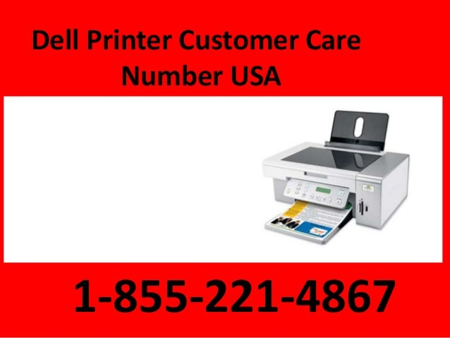 dell printer customer support number 1 855
