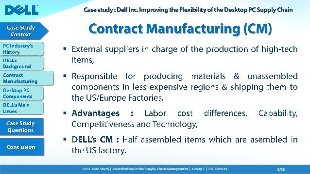 Dell Corporation - Case Study