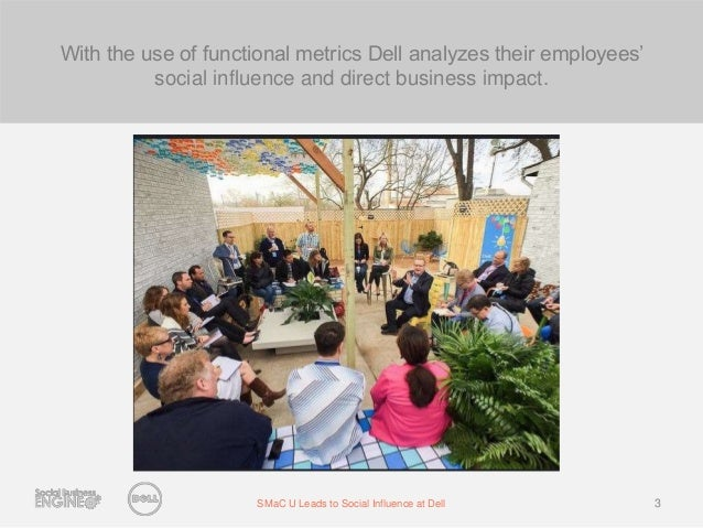 SMaC University Leads to Social Influence at Dell  Slide 3