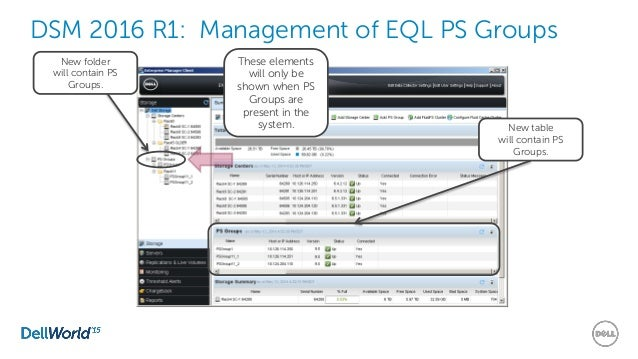 Dell Storage Management