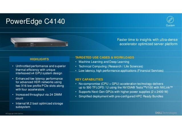 Dell Technologies - The Complete ISG Hardware Portfolio