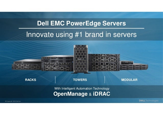 Dell Technologies - The Complete ISG Hardware Portfolio