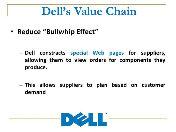 Case Study - Dell Value Chain Essay