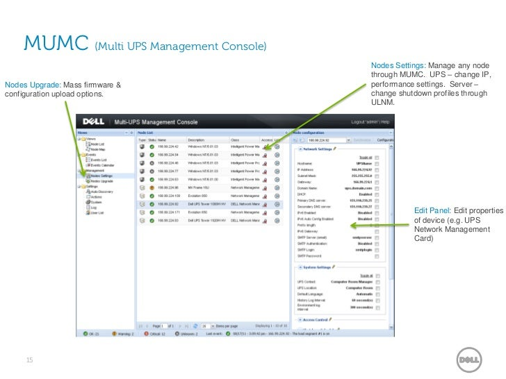 Dell UPS | Power Management in the Virtualized World
