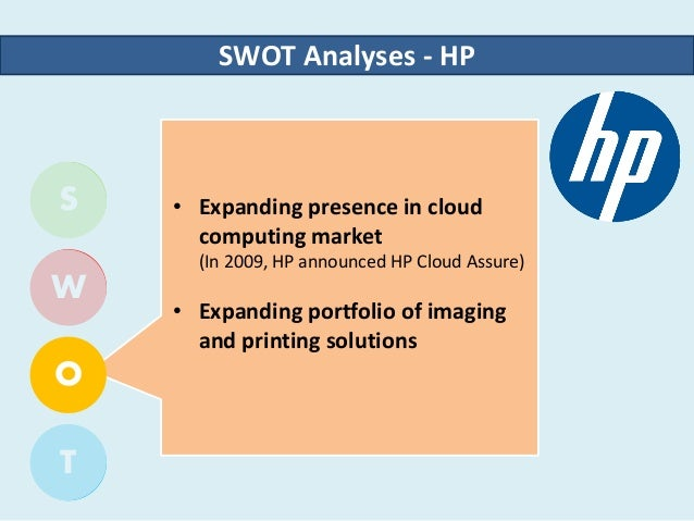 HP Hewlett-Packard SWOT Analysis, Competitors & USP