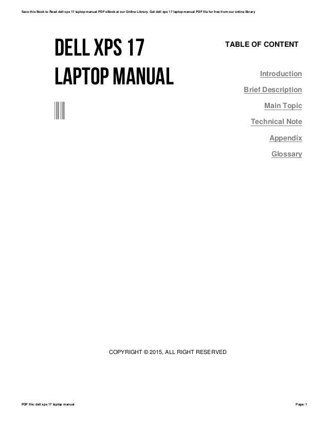 Array - dell laptops manual ebook  rh   dell laptops manual ebook bouletboots us
