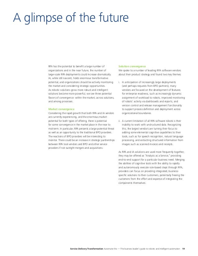 Deloitte - Automate this: The business leader's guide to