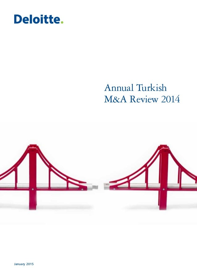 January 2015 Annual Turkish M&A Review 2014