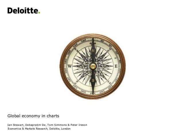Global economy in charts Ian Stewart, Debapratim De, Tom Simmons & Peter Ireson Economics & Markets Research, Deloitte, Lo...