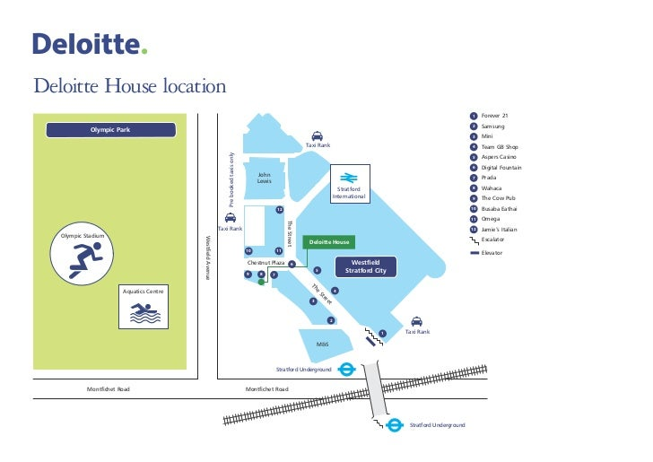 Deloitte House location                                                                                                   ...