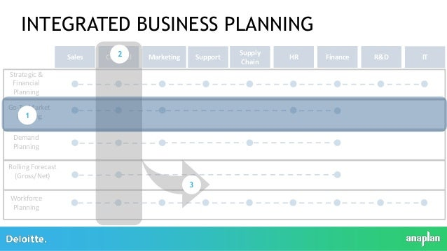 integrated business planning and hr