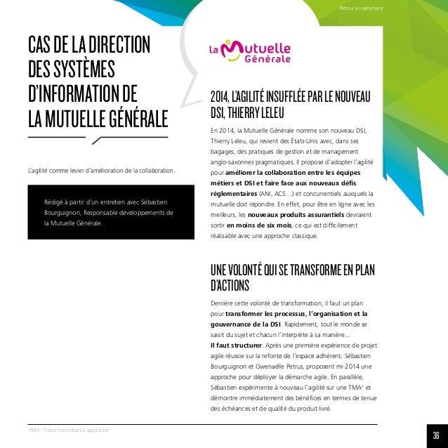 36 1 TMA: Tierce maintenance applicative Rédigé à partir d'un entretien avec Sébastien Bourguignon, Responsable développe...