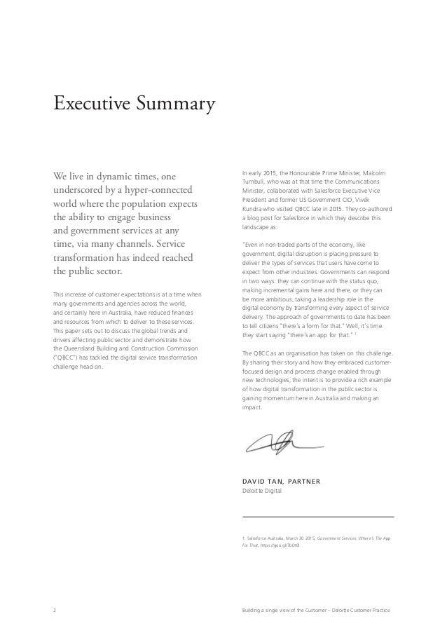 Deloitte Digital QBCC White Paper Slide 2