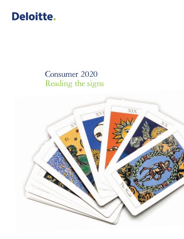 Consumer 2020 Reading the signs
