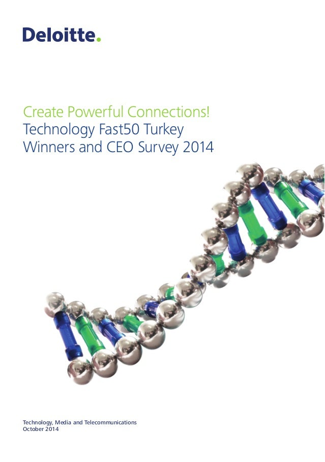 Create Powerful Connections!  Technology Fast50 Turkey  Winners and CEO Survey 2014  Technology, Media and Telecommunicati...