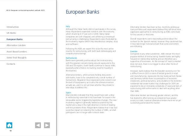 Deloitte banking industry outlook 12 feb 2014