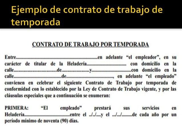 Plantilla De Modelo De Contrato De Trabajo Eventual En