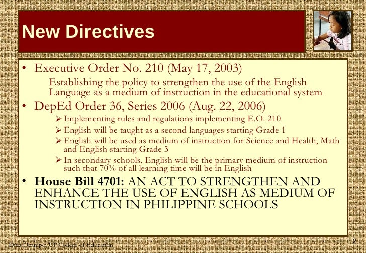 The Roadmap to Philippine Multiliteracy Slide 2