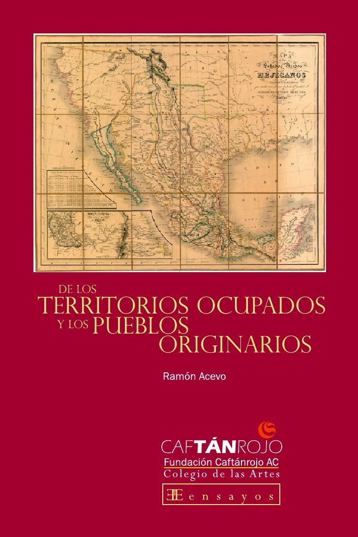De los territorios ocupados y los pueblos originarios