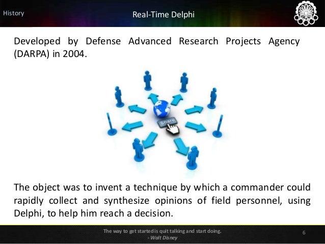 Delphi Method in Foresight