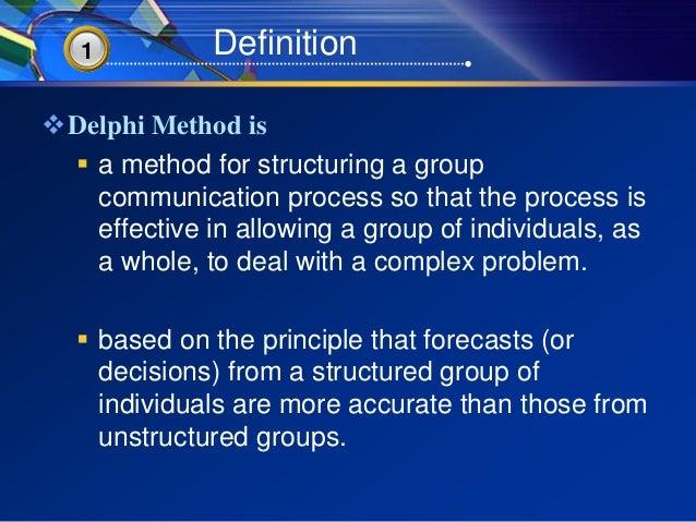 Delphi method - Wikipedia