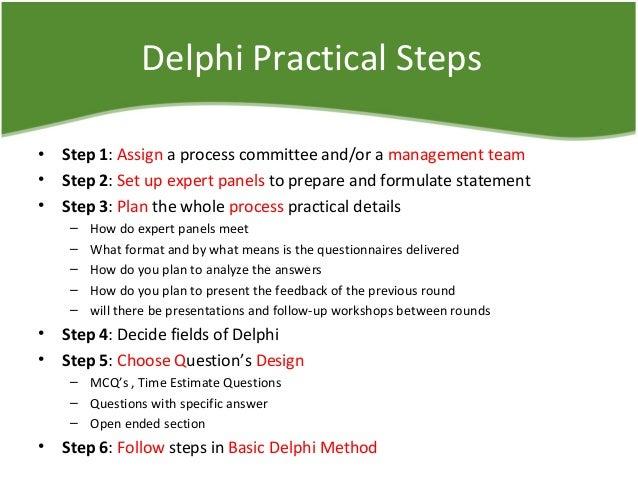 delphi techniques