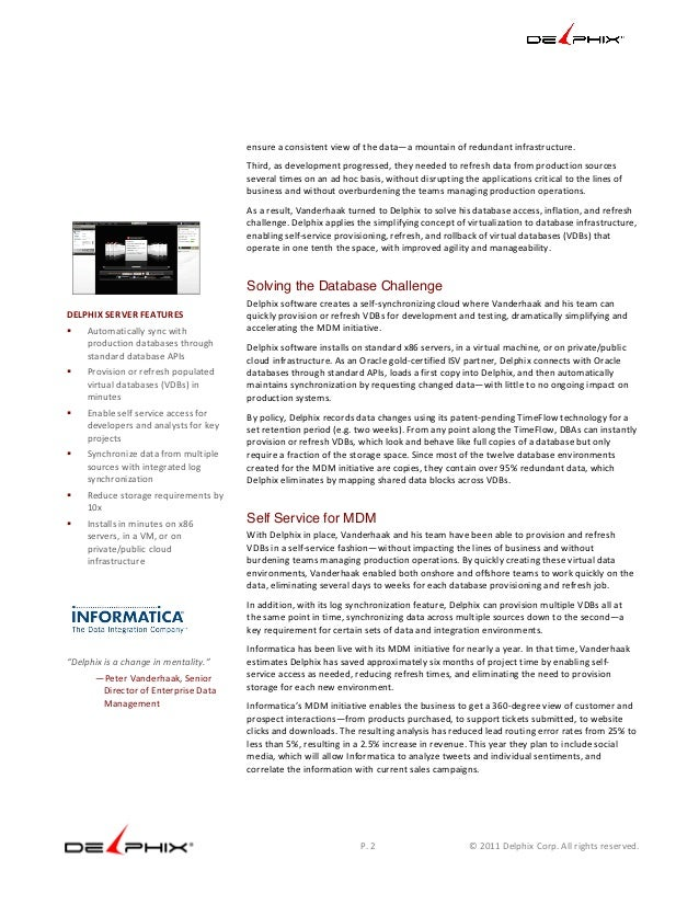 informatica case study Is there any source where i can get sample case study practice exercises  the informatica marketplace website has many basic as well as advanced scenarios i.