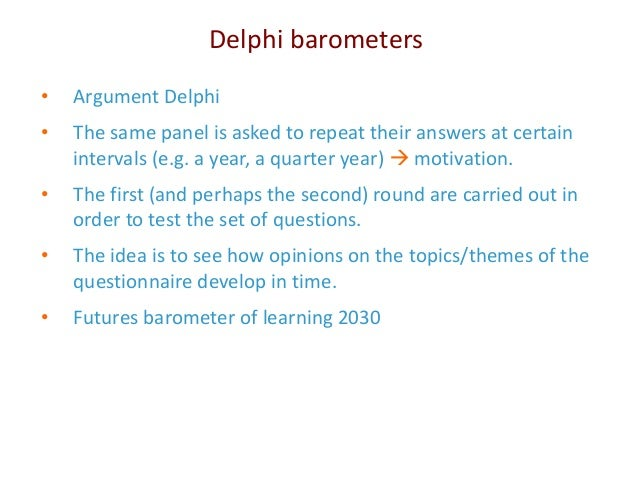 Delphi Study   Better Evaluation