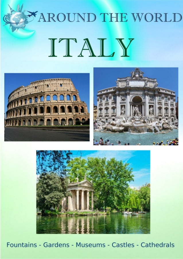 CONTENTS: 1. Map of Italy....................................................................................................