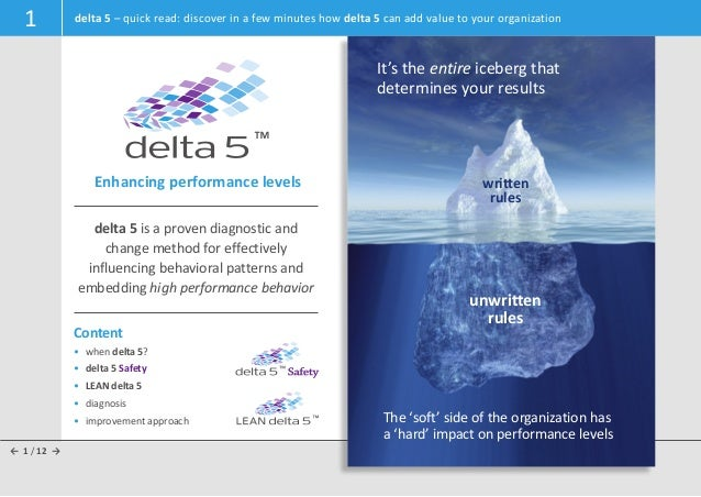 1          delta 5 – quick read: discover in a few minutes how delta 5 can add value to your organization                 ...