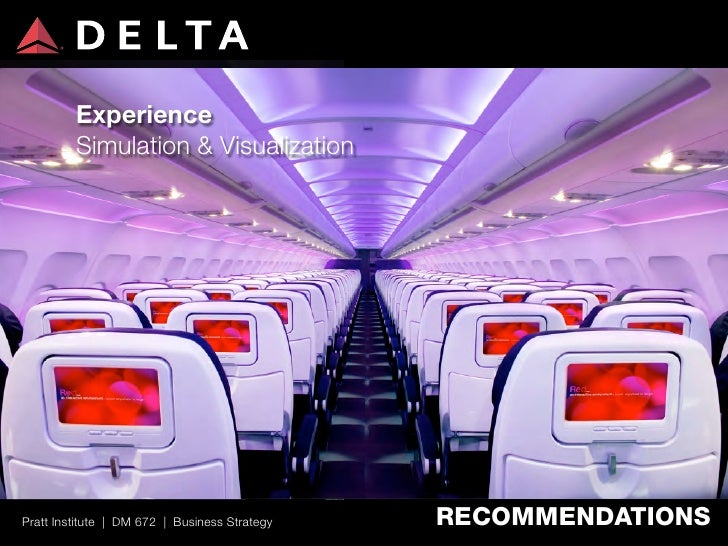 delta airlines business strategy Innovative airlines 2012: #3 delta air lines  valued transoceanic business fliers delta recently announced that it  the strategy is to.