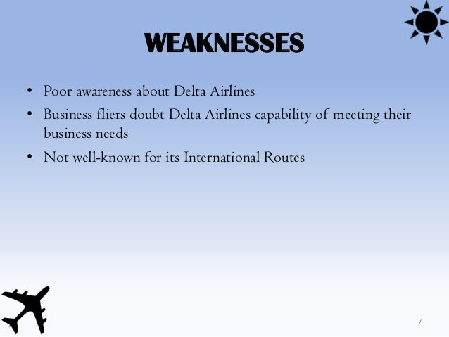 Delta airlines system analysis