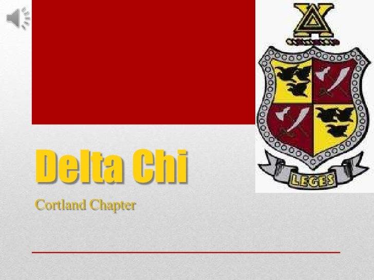 Delta Chi Portfolio