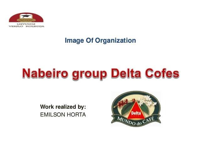 Image Of Organization  Work realized by:  EMILSON HORTA