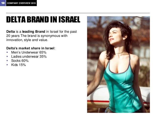 11  COMPANY OVERVIEW 2013   The leading German brand of underwear and intimate apparel for men, ladies and children.   E...