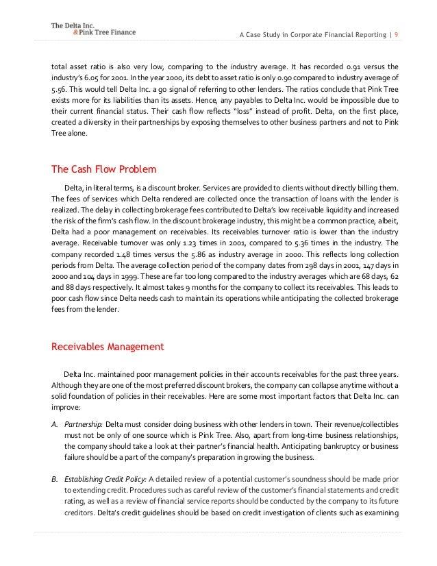 Case study on delta inc