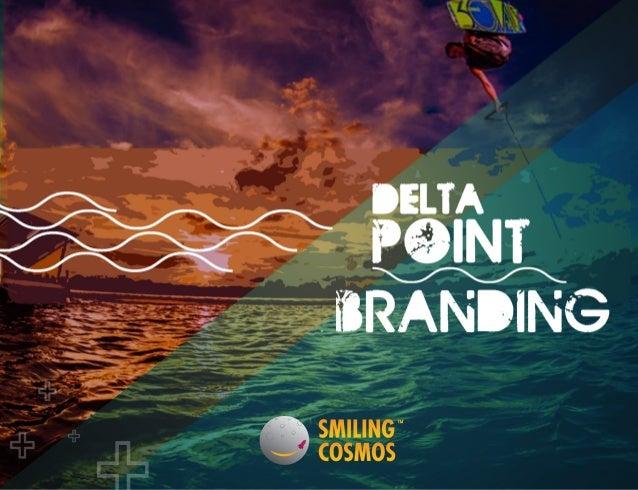 Delta ponit branding