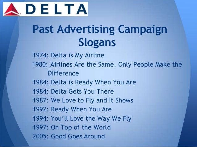 delta airline swot Bus100dgonzales search this site delta airlines, inc by diego gonzales website analysis sitemap delta airlines, inc by diego gonzales‎ ‎ swot analysis strenghts weaknesses: code share agreements enable delta airlines to market and sell seats to an expanded number of.