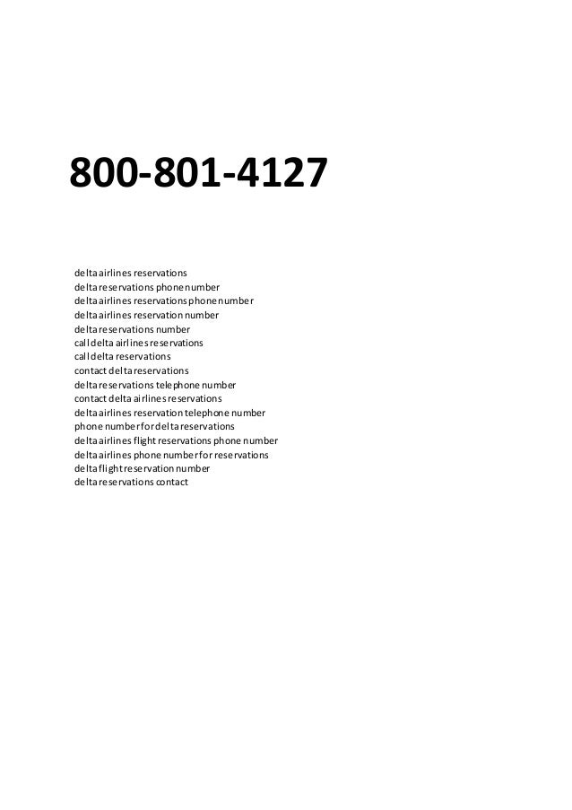 delta reservations phone number - airline tickets flights book ...