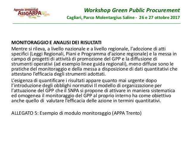 Le linee guida gpp del snpa nel contesto normativo di for Gettare i piani del workshop