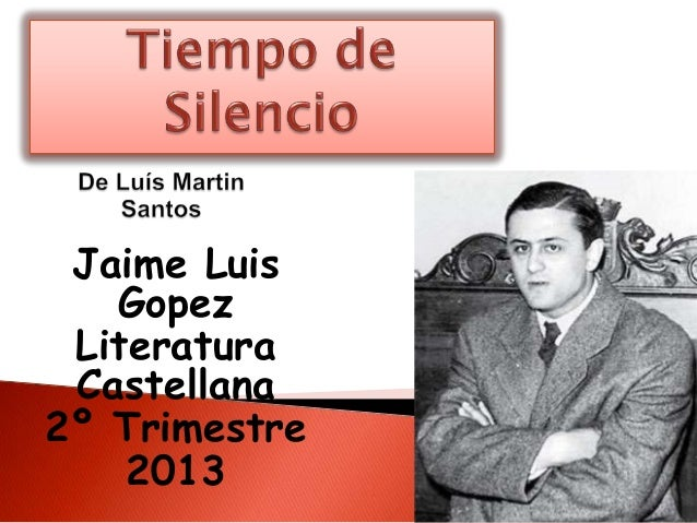Jaime LuisGopezLiteraturaCastellana2º Trimestre2013