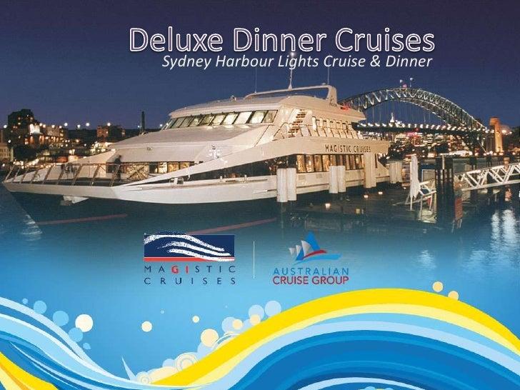 Sydney Harbour Lights Cruise & Dinner