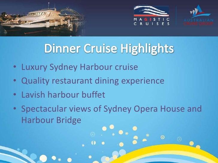 Deluxe Dinner Cruises Slide 2
