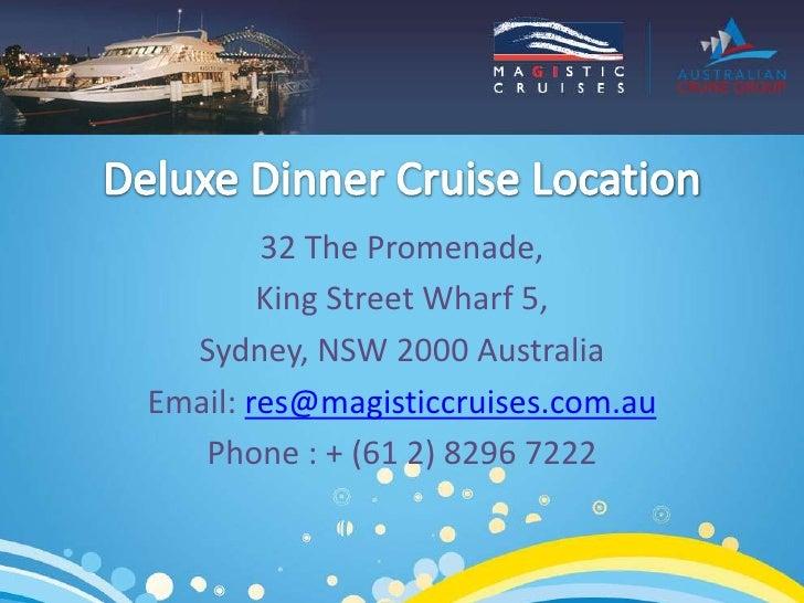Deluxe Dinner Cruises Slide 3